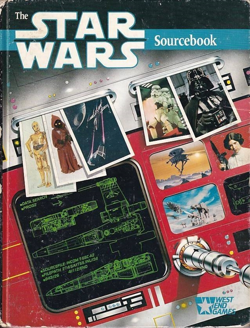 Star Wars D6 - Sourcebook 1st Edition (Genbrug)